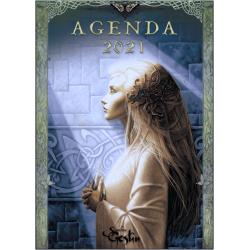 Agenda annuel 14 x 10 cm