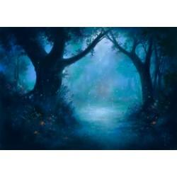 Forêt magique (Pastel...