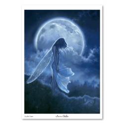La fée Lune - Tirage d'art A4